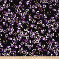 Kanvas Pansy Noir Pansy Noir Dark Purple Metallic