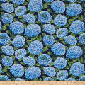 Hydrangea Blue All Over Hydrangea Dark Blue