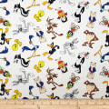 Looney Tunes Characters White