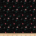 Riley Blake Panda Love Panda Floral Black