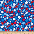 Riley Blake Patriotic Stars Blue
