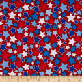 Riley Blake Patriotic Stars Red