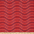 Riley Blake Patriotic Picnic Wave Red