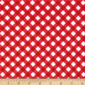 Riley Blake Patriotic Gingham Red