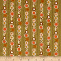 Riley Blake Guinevere Daisy Chain Stripe Green