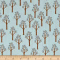 Riley Blake Lancelot Trees Blue
