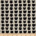 Riley Blake Cats Bats And Jacks Jacks Cats Cream