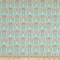 Art Gallery Indigp & Aster Courbe Ikat Sky