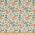 Liberty Fabrics The Cottage Garden Lawn Games Blue Pink Green
