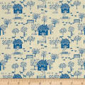 Liberty Fabrics The Cottage Garden Cottage Lane Blue