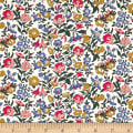 Liberty Fabrics The English Garden Mamie X Green Pink