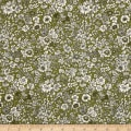 Liberty Fabrics The English Garden Emily Silhouette T Green