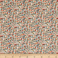 Liberty Fabrics The English Garden Newland Large X Pink Red Multi