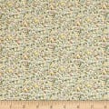 Liberty Fabrics The English Garden Newland Large Z Green Blue Pink