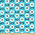 Cloud 9 Annabella Retro Organic Garden Blue
