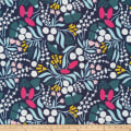 Cloud 9 Annabella Floral Bliss Organic Navy/Multi