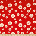 Birch Organic Maritime Sand Dollars Red