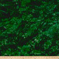Hoffman Bali Batik Watercolors Christmas Green