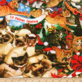 Kaufman The Joys of Christmas Cats Holiday