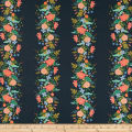 Cotton + Steel Rifle Paper Co. English Garden Vines Dark