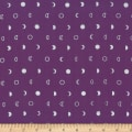 Hoffman Me + You Indah Batik Moons Metallic Purple/Silver
