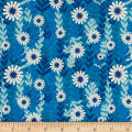 Cotton + Steel Freshly Picked Daisies Blue