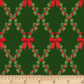 Let It Sparkle Bows And Holly Radiant Metallic Pine