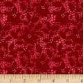 Let It Sparkle Holiday Lace Radiant Metallic Crimson