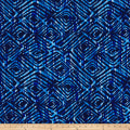 "Prismatic 108"" Wide Back Diamondesque Navy"