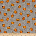 Too Cute To Spook Mini Pumpkins Gray