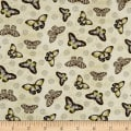 Wilmington Chantrell Butterflies Allover Tan