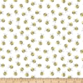 Wilmington Little Sunshine Bees Allover White