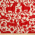 Artistry Fiesta Otomi Inspired Jacquard Red