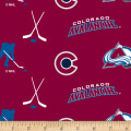 NHL Fleece Colorado Avalanche Tossed