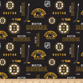 NHL Broadcloth Boston Bruins