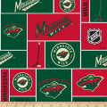 NHL Broadcloth Minnesota Wild