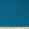 Indigo Cottage Small Dots Medium Blue