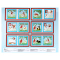 "Daddy & Me Dog Soft Book  36"" Panel Sky Blue"