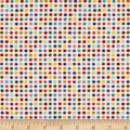 Modern Movement Dots Metallic White/Multi