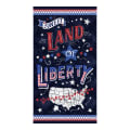 "Timeless Treasures Sweet Land Of Liberty 24"" USA Panel Navy"