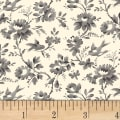 Sussex Floral Vine Grey