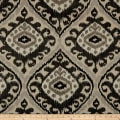 Richloom Haley Damask Charcoal