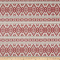 Laura & Kiran Stockholm Print Basketweave Red