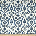 Laura & Kiran Turkish Tile Print Antique Blues/White