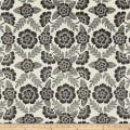 Laura & Kiran Bohemia Print Basketweave Black