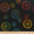 "Anthology Batiks Tribal Dot 108"" Wide Back Rainbow"