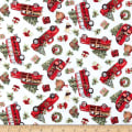 Springs Creative Christmas Red Truck Toss Multi