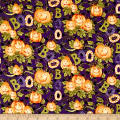 Springs Creative Halloween Happy Haunting Pattern Multi