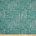 Bella Dura Exclusive Indoor/Outdoor Salt Creek Chenille Jacquard Turquoise