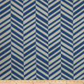 Bella Dura Exclusive Indoor/Outdoor Breakers Isle Chenille Jacquard Cobalt